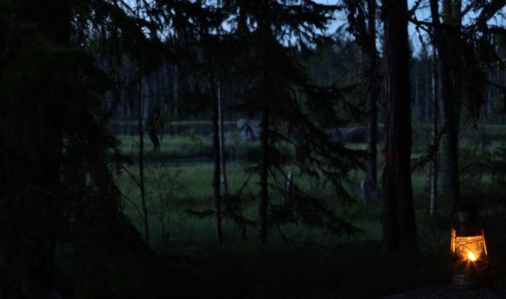 The lamp at Grössjön